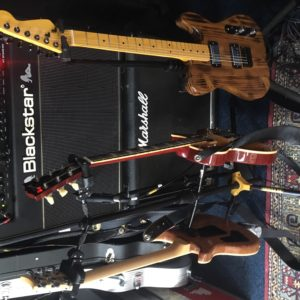 Guitars and amps